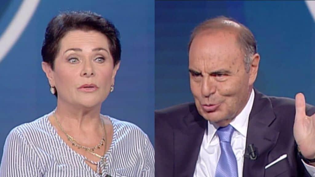 Lucia Panigalli e Bruno Vespa