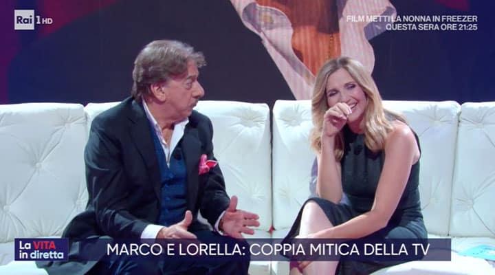 Marco Columbro e Lorella Cuccarini