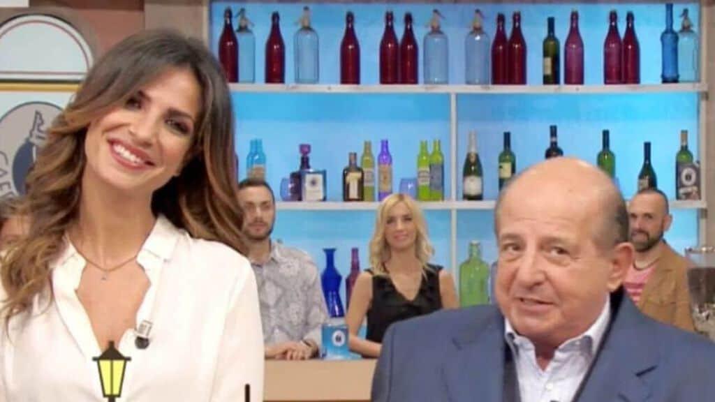 Roberta Morise e Giancarlo Magalli. Fonte: Rai Play