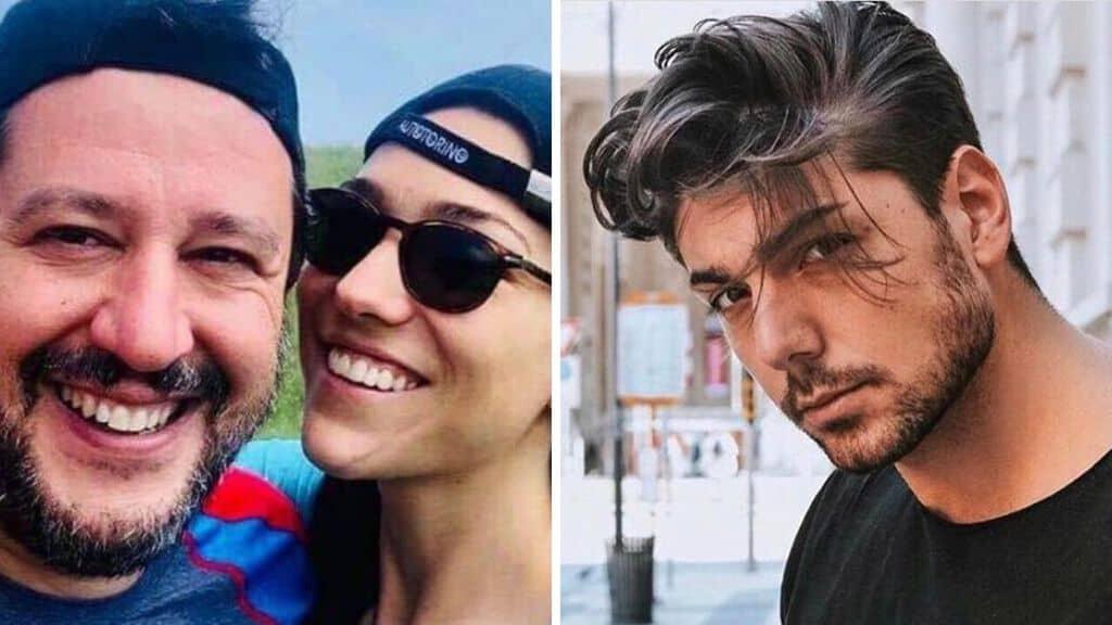 Matteo Salvini e Francesca Verdini, Rodolfo Salemi. Fonte: Instagram
