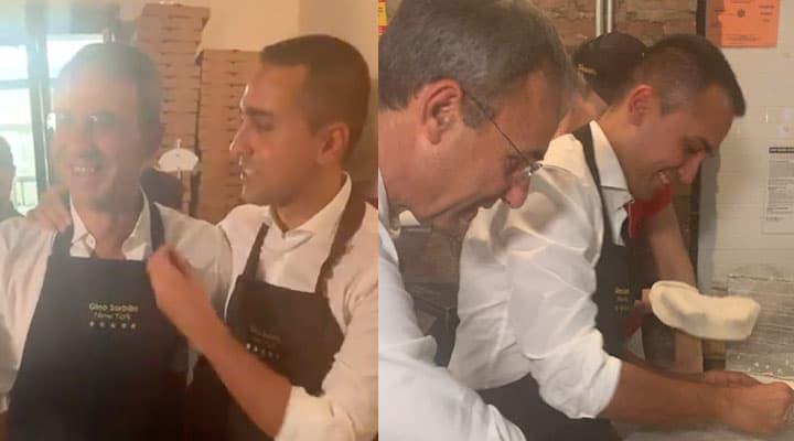 Sergio Costa e Luigi Di Maio