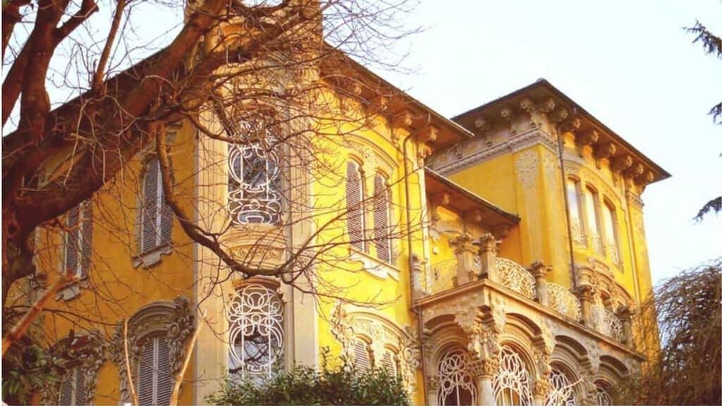 Villa Scott, il set di Profondo Rosso