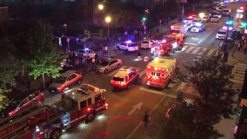 Usa, sparatoria a Washington Dc: un morto e 5 feriti