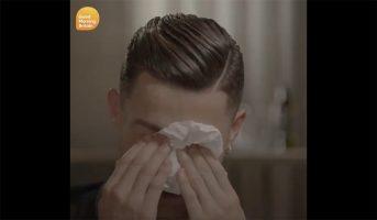 Cristiano Ronaldo in lacrime per il padre