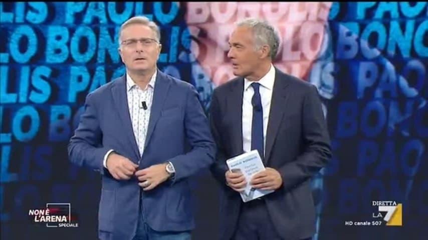Paolo Bonolis e Massimo Giletti