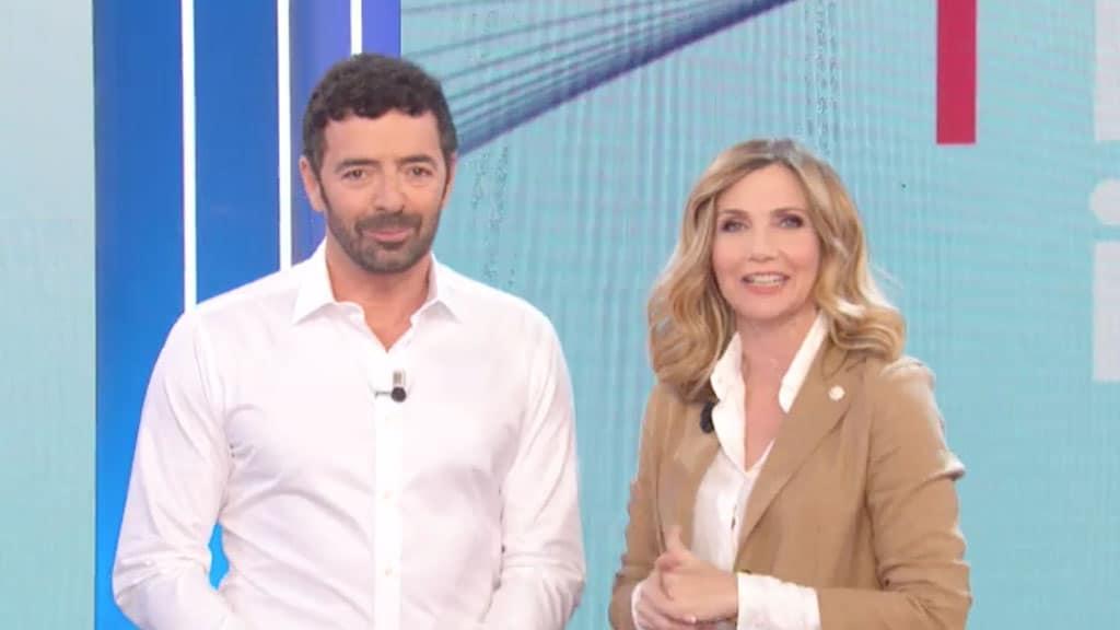 Alberto Matano e Lorella Cuccarini a La vita in diretta