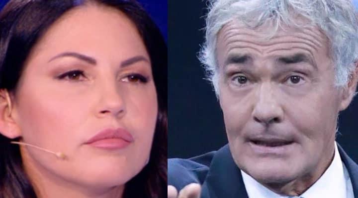Eliana Michelazzo e Massimo Giletti