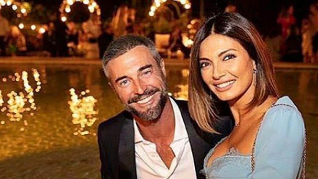 Flavio Montrucchio e Alessia Mancini. Fonte: Flavio Montrucchio/Instagram