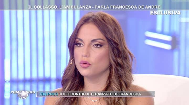 Primo piano di Francesca De André
