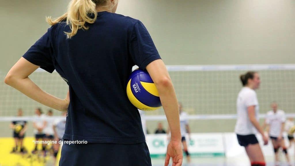 Giocatrici volley Immagine di repertorio
