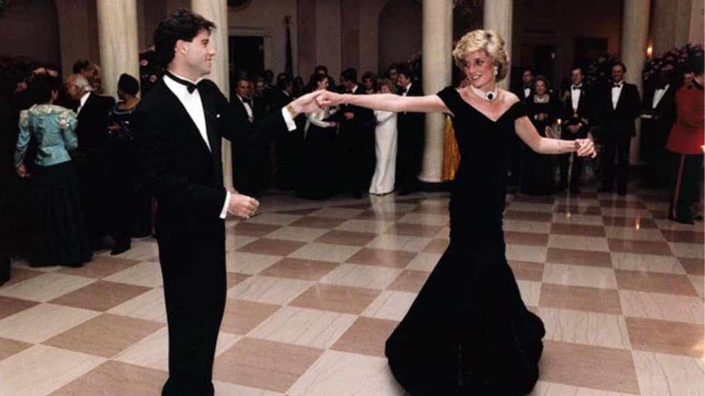 Lady Diana ad un ballo