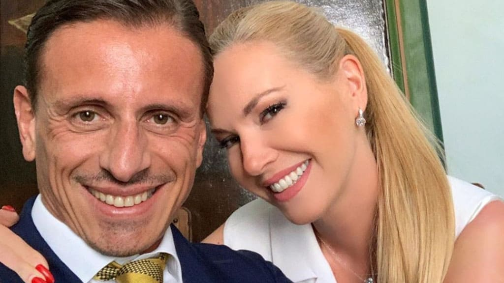Marco Bacini e Federica Panicucci