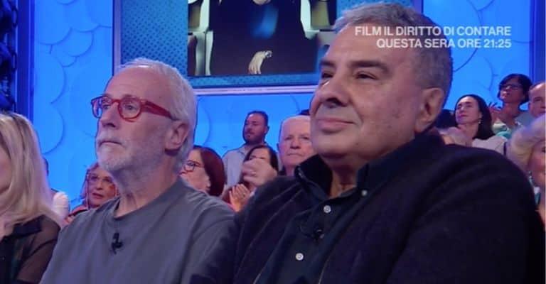 Marco Rinalduzzi a sinistra e Massimo Calabrese a destra, i produttori fondamentali per la carriera di Alex Baroni. Fonte: Rai Play