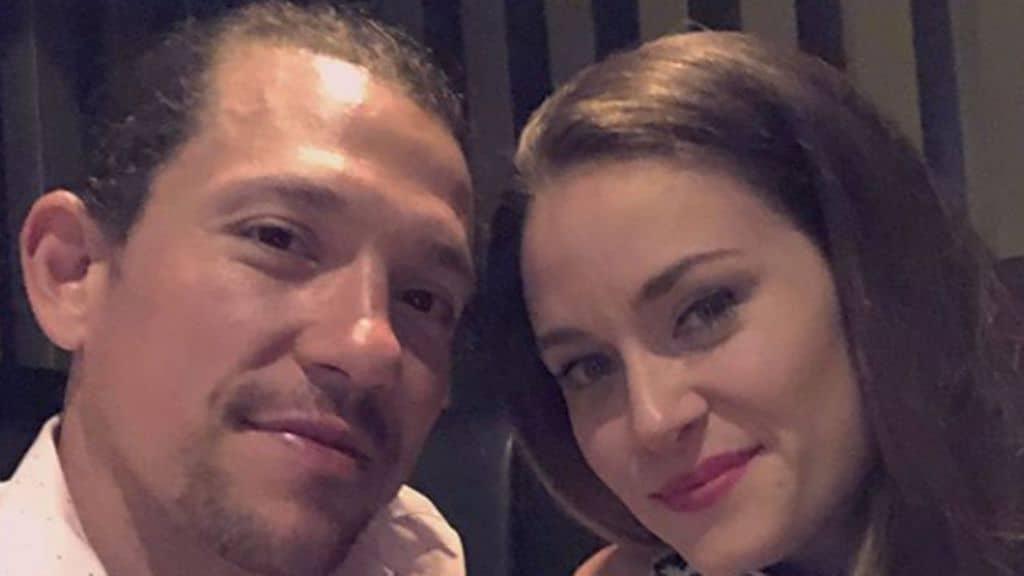Miguel Cervantes e la moglie Kelly