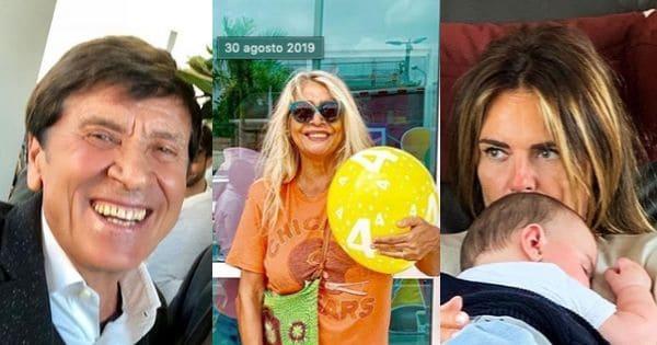 Gianni Morandi, Mara Venier e Paola Perego