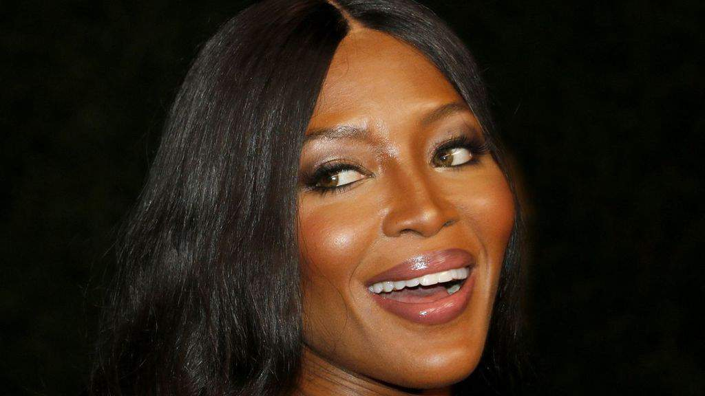 Naomi Campbell in primo piano