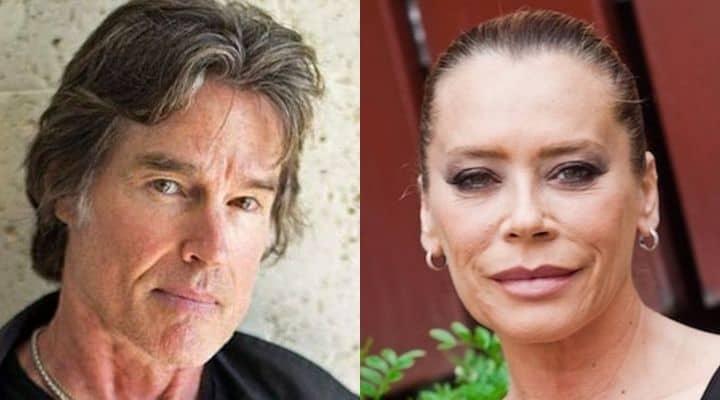 Barbara De Rossi e Ronn Moss parlano del presunto flirt sul set