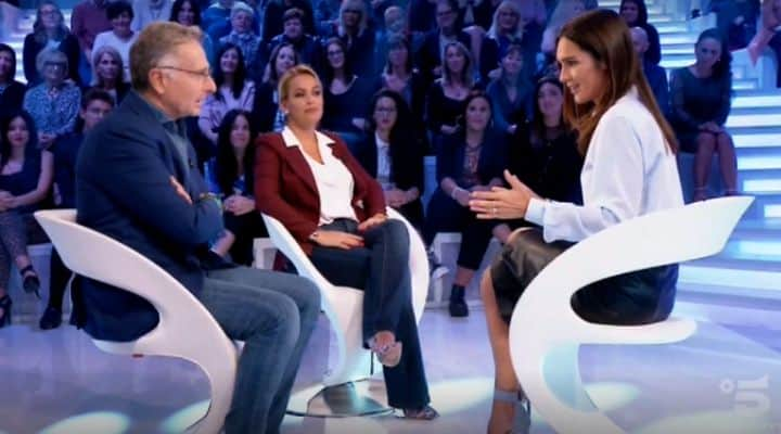 Paolo Bonolis e Sonia Bruganelli in un'intervista di coppia a Verissimo