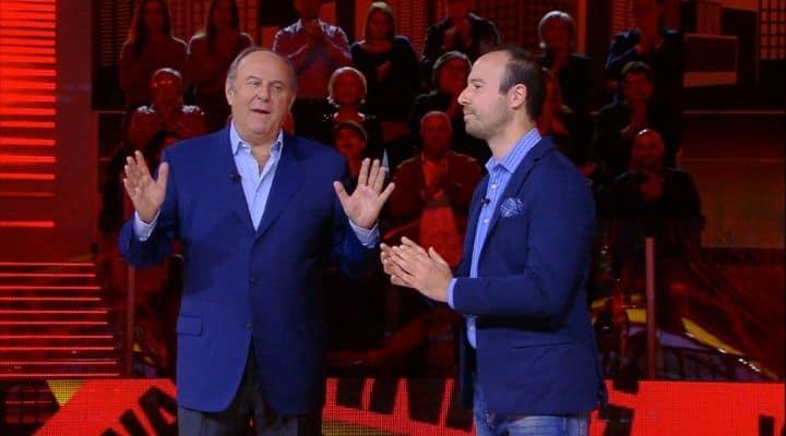 Gerry Scotti e Gabriele Giorgio
