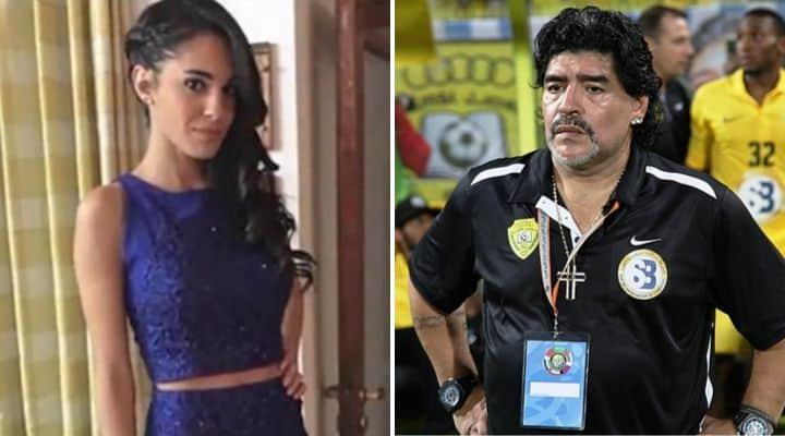 Magalì e Diego Armando Maradona