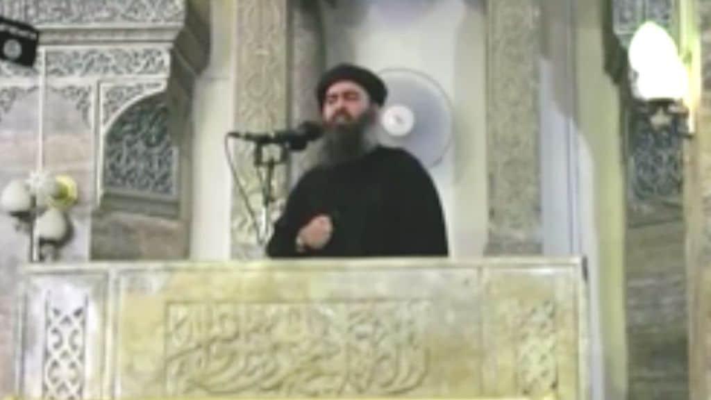 Il leader dell'Isis Al Baghdadi