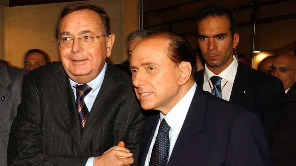 Paolo Bonaiuti e Silvio Berlusconi