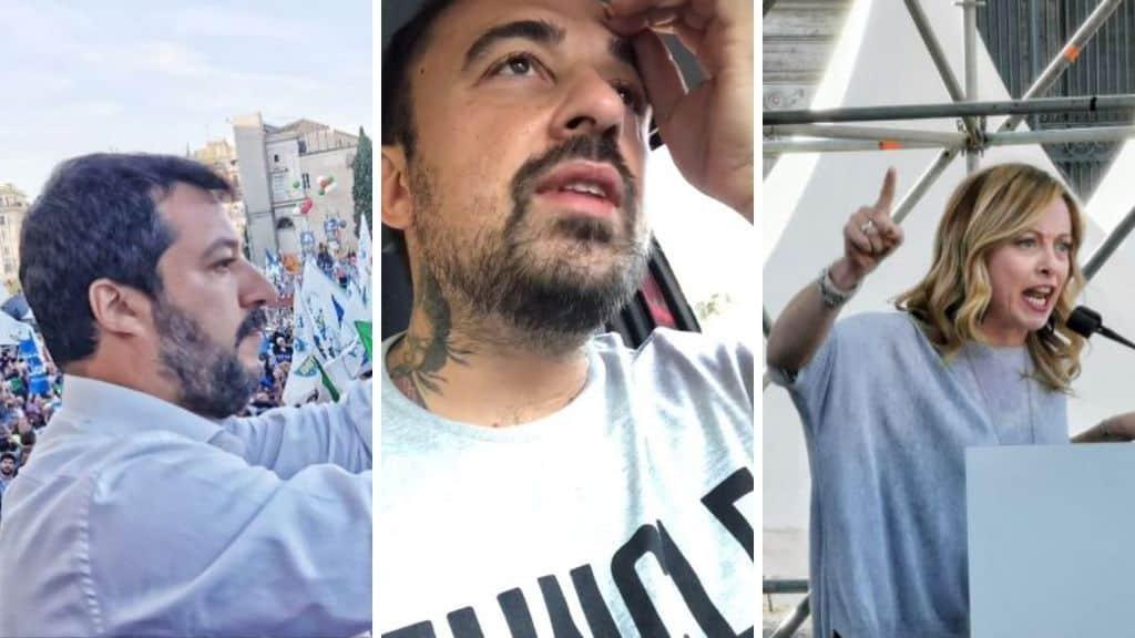 Chef Rubio contro Matteo Salvini