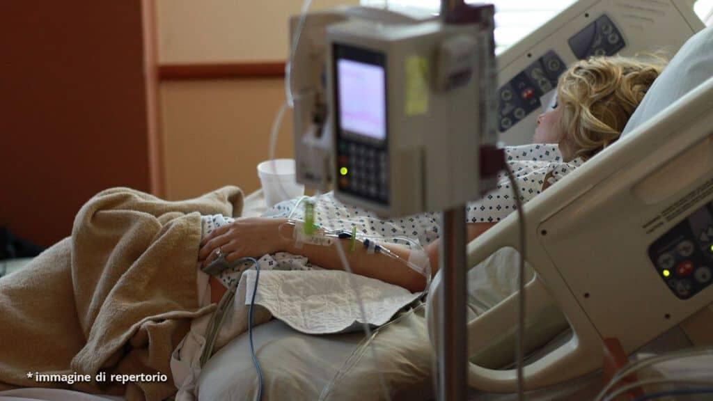 donna in ospedale per il parto