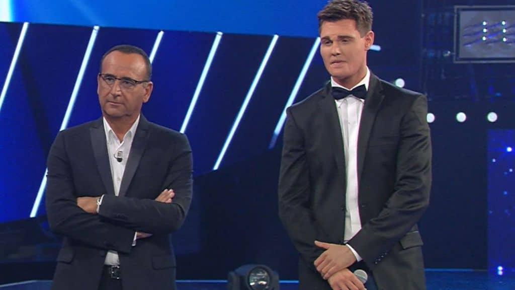 Francesco Monte e Carlo Conti
