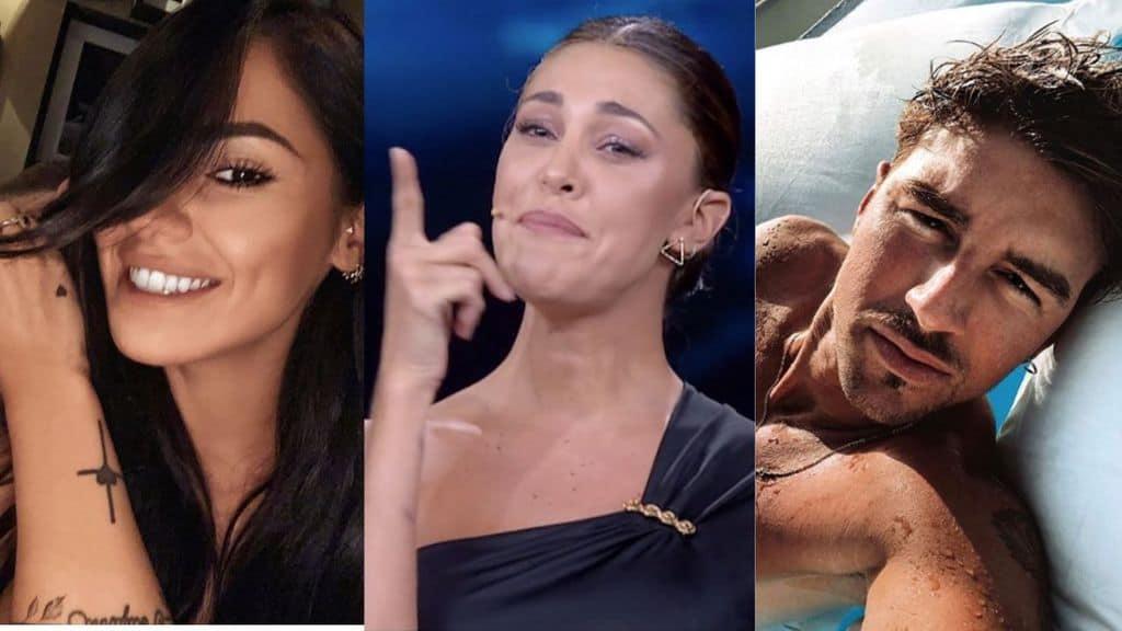 Giulia De Lellis, Belen Rodriguez, Andrea Damante