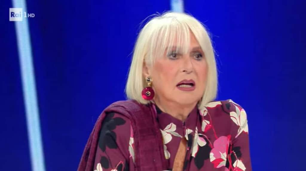 loretta goggi parla a tale e quale show