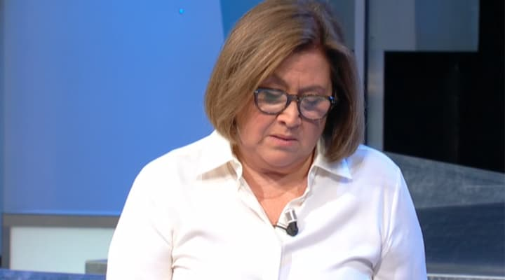 Lucia Annunziata a Mezz'ora in più