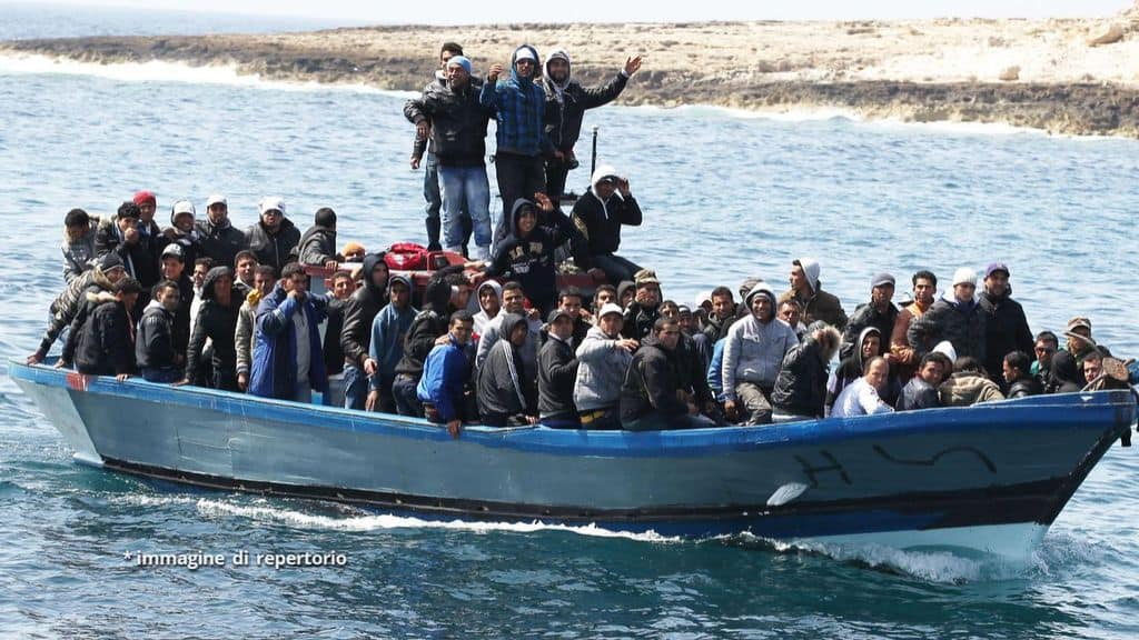 Migranti Immagine di repertorio