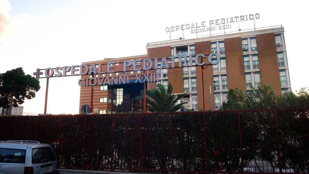 ospedale pediatrico giovanni xxxiii bari