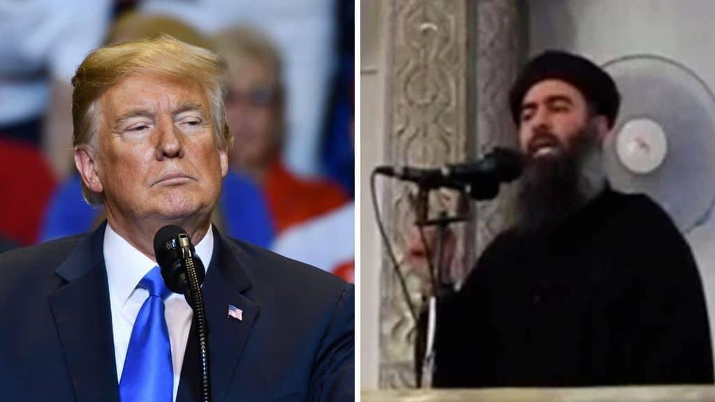 Donald Trump e Al Baghdado