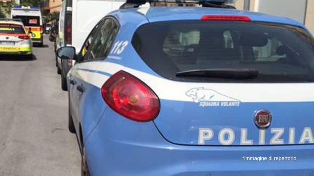 volante di polizia