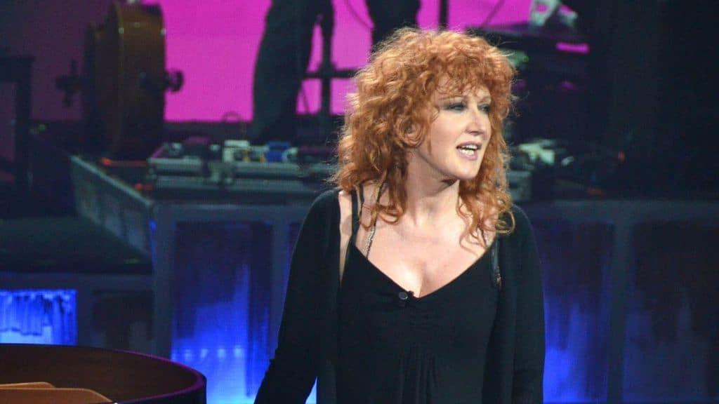 Fiorella Mannoia sul palco