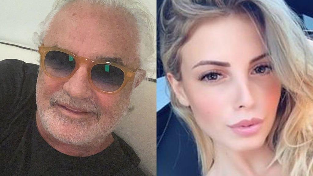Flavio Briatore e Benedetta Bosi