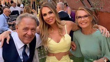 Ilary Blasi , mamma Daniela e papà