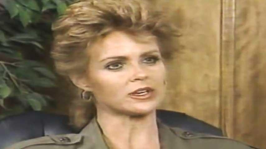 Judie Nelson in un'intervista televisiva