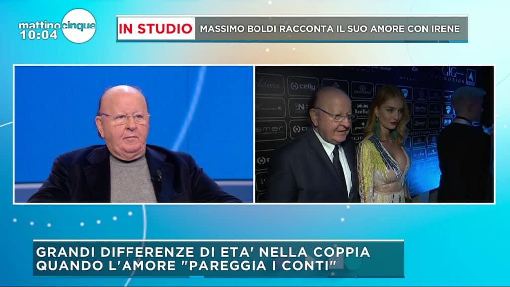 Massimo Boldi a Mattino 5: