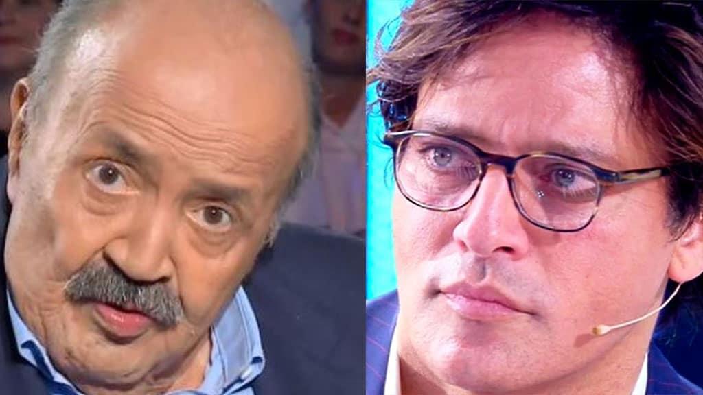 Maurizio Costanzo e Gabriel Garko
