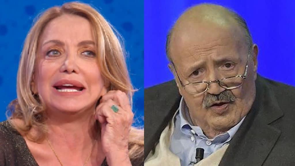 Simona Izzo e Maurizio Costanzo