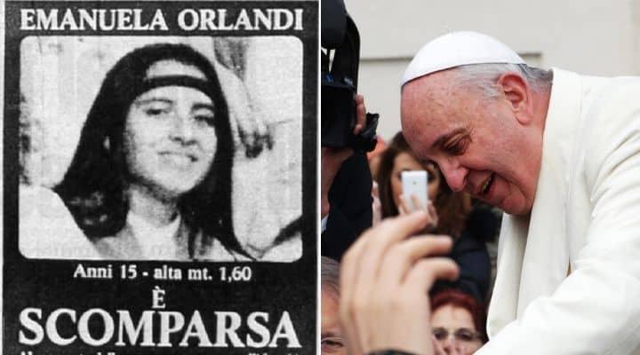 Emanuela Orlandi e Papa Francesco