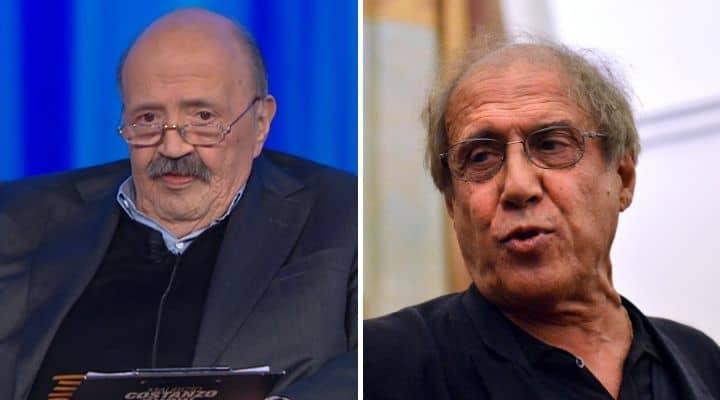 Maurizio Costanzo e Adriano Celentano