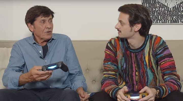 Gianni Morandi e Fabio Rovazzi