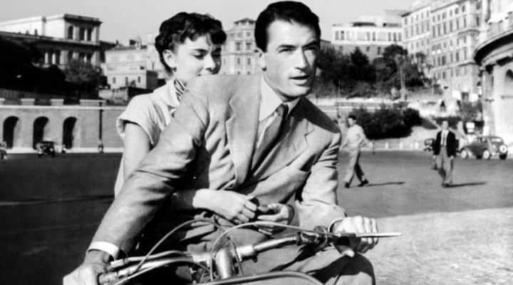 Scena del film Vacanze Romane