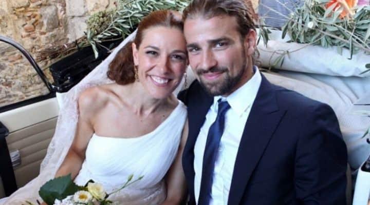 Mario Biondo e Raquel Sanchez Silva