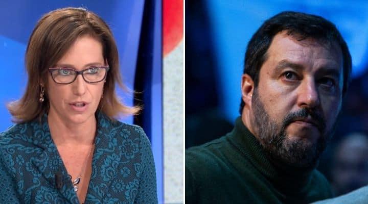 Ilaria Cucchi e Matteo Salvini