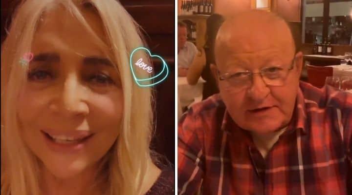 Mara Venier e Massimo Boldi